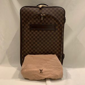 Louis Vuitton Damier Pegase 60 Suitcase N23255